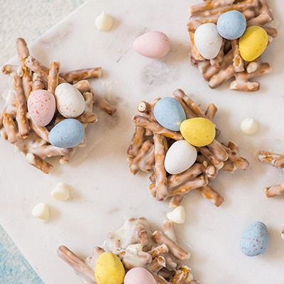 Egg-Ceptional Easter Nests recipe