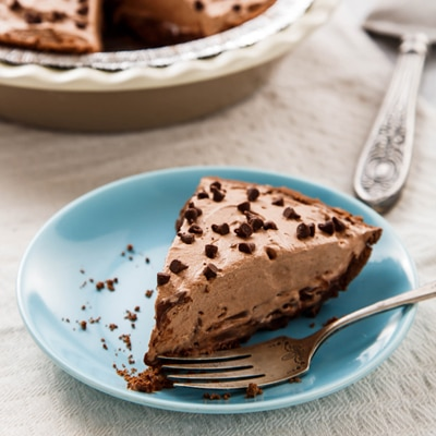 Chocolate Mudslide Frozen Pie