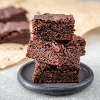Best homemade brownies with chocolate chips