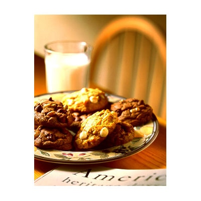 Macadamia Nut White Chip Pumpkin Cookies Recipe | Meals.com