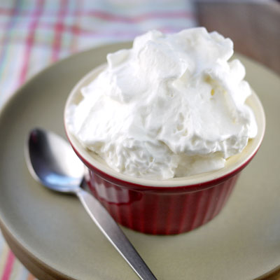 Whipped Carnation Evaporated Milk Topping