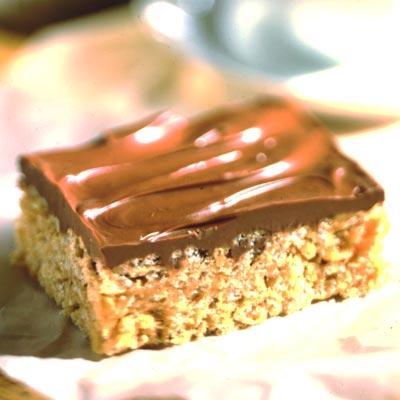 Chocolate Butterscotch Cereal Bars