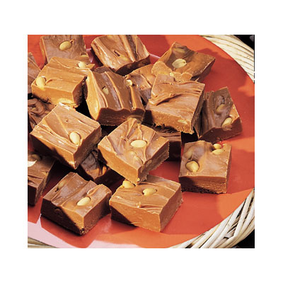 Peanutty Chocolate Fudge