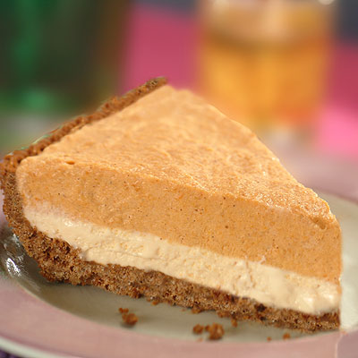 Pumpkin Mousse Ice Cream Pie