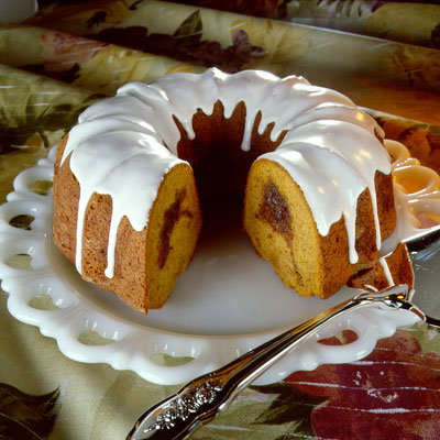 Sour Cream Pumpkin Bundt Cake