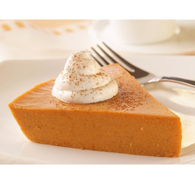 Lite and Easy Crustless Pumpkin Pie