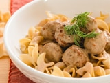 Swedish Meatballs with Noodles