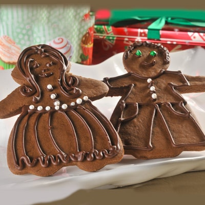Chocolate Gingerbread Boys and Girls