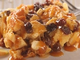Raisin Apple Bread Pudding