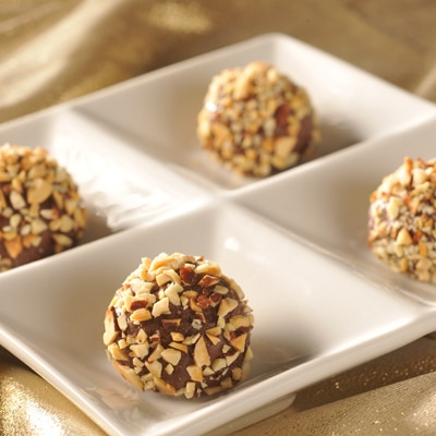 Toasted Almond Truffles
