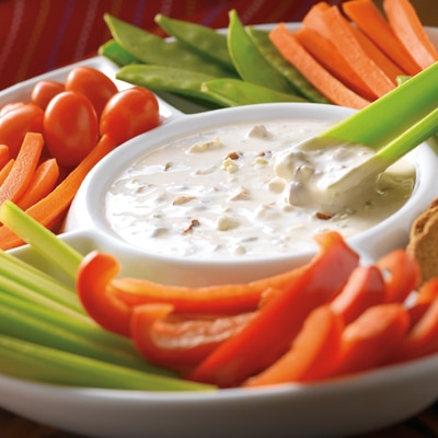 Smokin' Almond Blue Cheese Dip