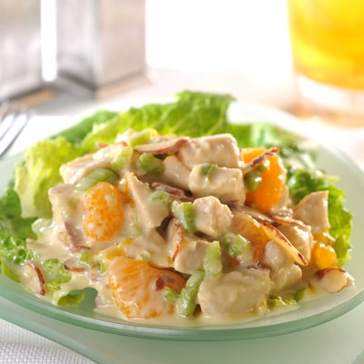 Crunchy Orange Chicken Salad