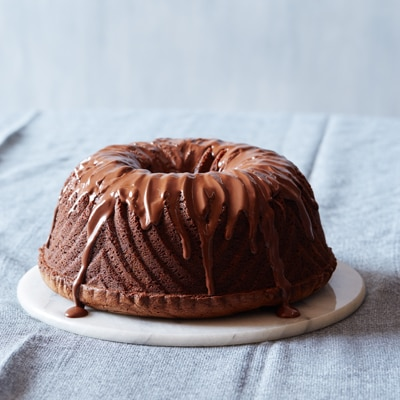 Rich Chocolate Pound Cake