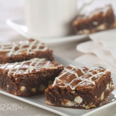 White Chip Brownies