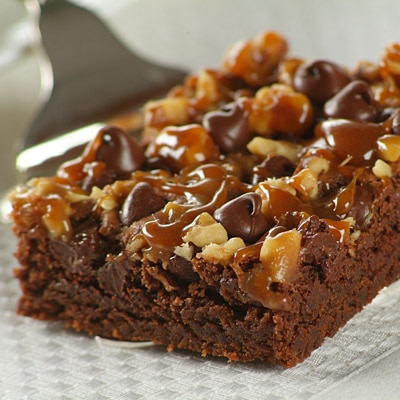 Chocolate Turtle Brownies Recipe | Meals.com
