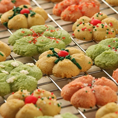 Sugar Spritz Cookies