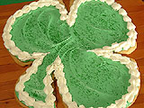 Big Shamrock Cookie
