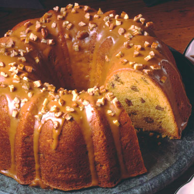 Butterscotch Rum Pound Cake