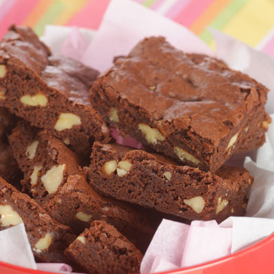 Super Easy Chocolate Fudge Brownies