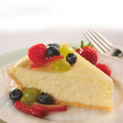 Fruited White Cheesecake