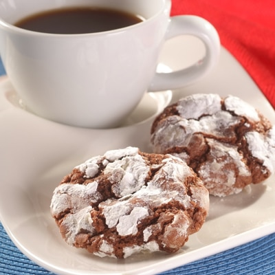 Firecracker Fudge Cookies