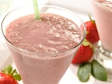Strawberry Swirl Smoothie