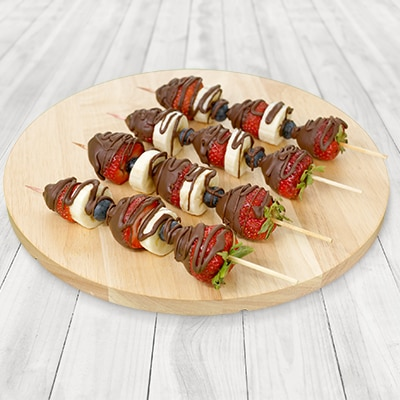 Chocolate Dipped Fruit Kabobs Nestl 201 174 Very Best Baking