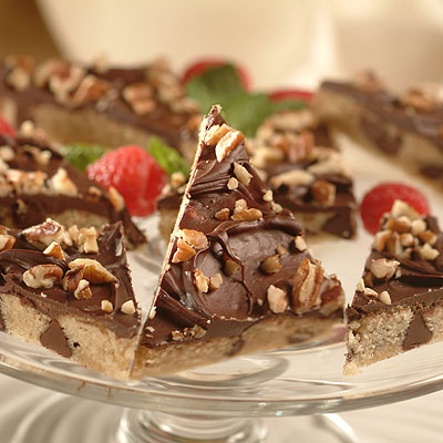 Chocolate Chip Toffee Diamonds