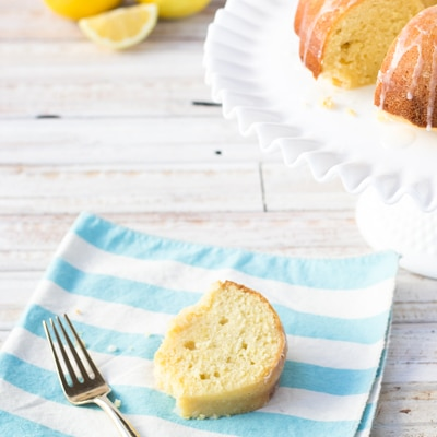 Zesty Lemon Pound Cake