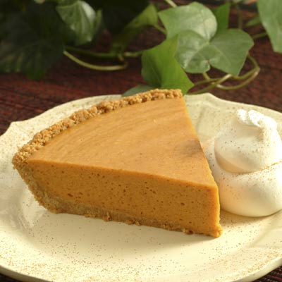 Easy No-Bake Pumpkin Chiffon Pie